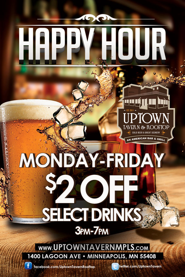 Happy Hour @ Uptown Tavern | Minneapolis | Minnesota | United States
